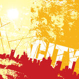 Urban city Royalty Free Stock Photography