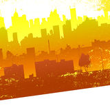 Urban city Royalty Free Stock Images