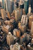 Urban city aerial view Royalty Free Stock Photo