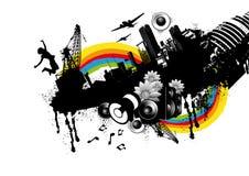 Urban City Elements vector illustration