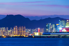 Urban city in Hong Kong Royalty Free Stock Photography