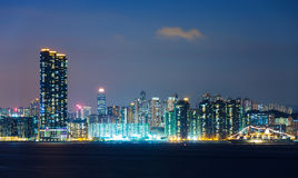 Urban city in Hong Kong Stock Photography