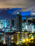 Urban city landscape in Hong Kong Stock Photo