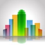 Urban city Stock Photo