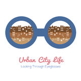 Urban City Life Royalty Free Stock Photography