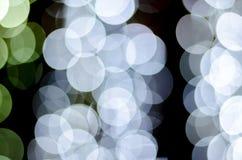 Urban city night light bokeh , defocused blur background Stock Image