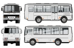 Urban / city passenger bus Royalty Free Stock Images