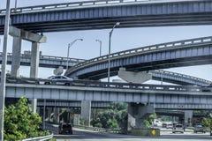 Urban city roads, jungle, police royalty free stock photos