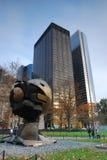 Urban, city scape.New York WTC memorial. City scape. Dwntown Manhattan, New York City. WTC Memorial Stock Images