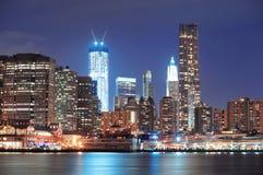 Urban city skyline Stock Images