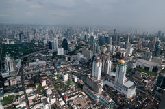 Urban City Skyline, Bangkok, Thailand Stock Photos