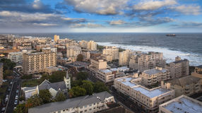 Urban City skyline, Cape Town, South Africa. Royalty Free Stock Image