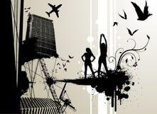 Urban city vector Stock Image