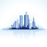 Urban City View Royalty Free Stock Images