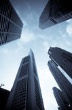 Urban cityscape. Modern office buildings Royalty Free Stock Photo