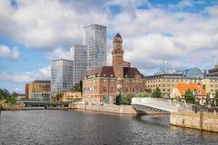 Urban cityscape of Malmo. Sweden Stock Photos