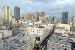 Urban cityscape in San Francisco, California Stock Images