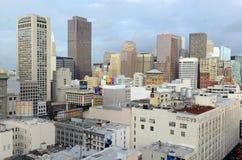 Urban cityscape in San Francisco, California Stock Photos