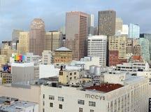 Urban cityscape in San Francisco, California Royalty Free Stock Image