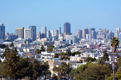 Urban cityscape of San Francisco skyline Stock Photo