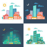 Urban cityscape. Stock Images