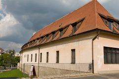 Urban classic house in  Bardejov Royalty Free Stock Images