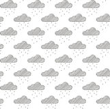 Urban Clouds Royalty Free Stock Photos