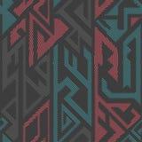 Urban color geometric seamless pattern Stock Photos