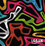Urban colorful background Royalty Free Stock Photo