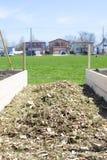 Urban community garden Stock Image
