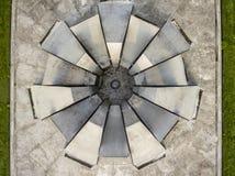 Urban concrete symmetry Royalty Free Stock Image