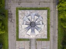 Urban concrete symmetry Royalty Free Stock Photos
