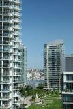 Urban Condominiums Royalty Free Stock Image