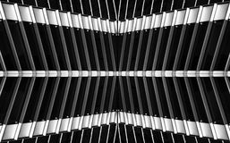 Urban  construction, architecture details and fragment in black and white, architecture abstract in B&W, urban creatives, architec Stock Image