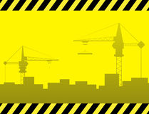 Urban construction background Royalty Free Stock Image
