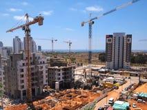Urban construction site Royalty Free Stock Photos
