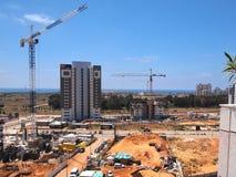 Urban construction site Stock Image