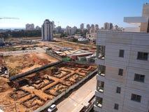 Urban construction site Royalty Free Stock Photo