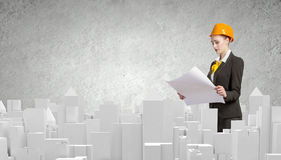 Urban construction Stock Images