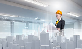 Urban construction Royalty Free Stock Images