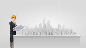 Urban construction Royalty Free Stock Photo