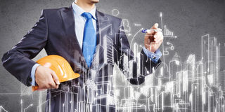 Urban construction Royalty Free Stock Image