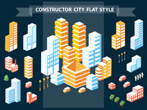 Urban constructor Stock Photo