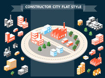 Urban constructor Royalty Free Stock Images