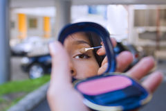 Urban cosmetics Stock Images