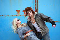 Urban couple Royalty Free Stock Images