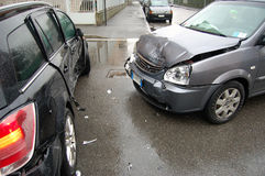 Urban crash Stock Photos