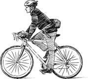 Urban cyclist Stock Photos