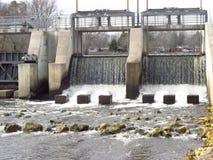 Urban Dam in Town Royalty Free Stock Photos