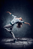 Urban dance stock photos